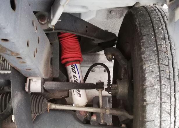 ボンゴ キャンピングカーのショックをプロコンプ ES9000に交換で足回りを強化、乗り心地を改善【快適化】